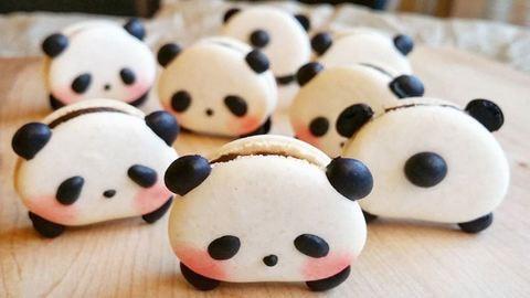 A pandás macaron egyszerűen túl cuki ahhoz, hogy megedd