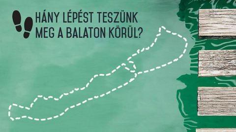 10 nap alatt sétálja körbe három barátnő a téli Balatont