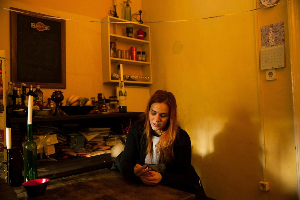 Se áram, se fűtés nincs Bettináéknál fotó: Magócsi Márton