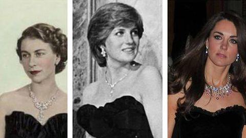 Így még nem láttad II. Erzsébetet, Diana hercegnőt és Katalin hercegnét! – fotó