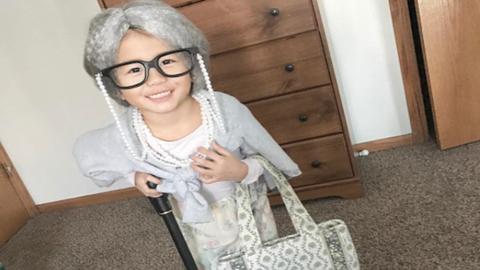 A gyerekekből lesznek a legcukibb idősek – fotók