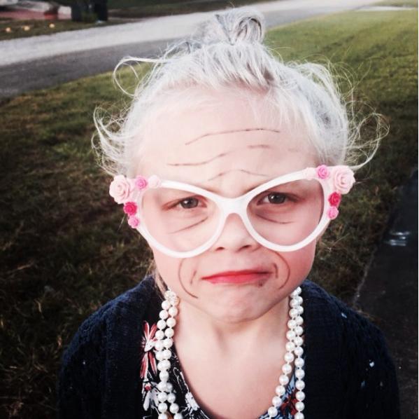 A gyerekekből lesznek a legcukibb idősek - fotók