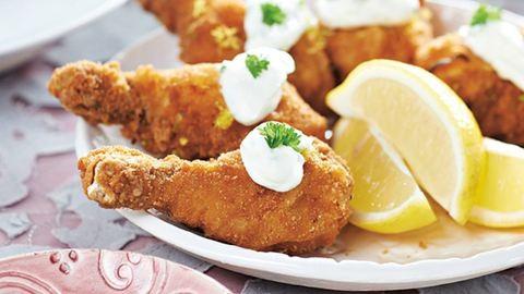 A tökéletes szombati ebéd: citromos rántott csirkecomb