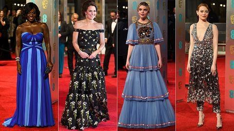 BAFTA 2017: ismeretlen színésznő öltözte túl Katalin hercegnét