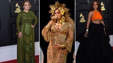 Beyoncé, Adele, Rihanna és a többiek – sztárok a Grammy-gálán és egy átlagos kedden