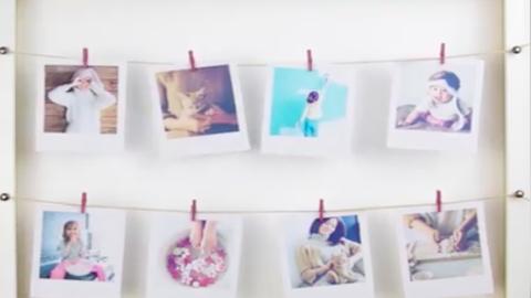 Szuperkreatív DIY-képkeretek 1 percben – videó