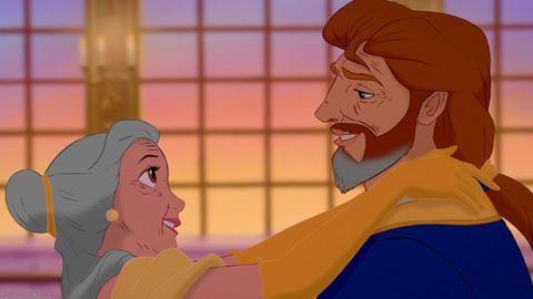 Boldogan éltek, míg... – így néznének ki a Disney-párok öregen