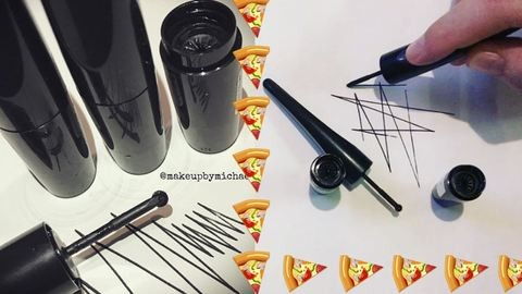 Pizzaszeletelő ihlette a legújabb szemhéjtust
