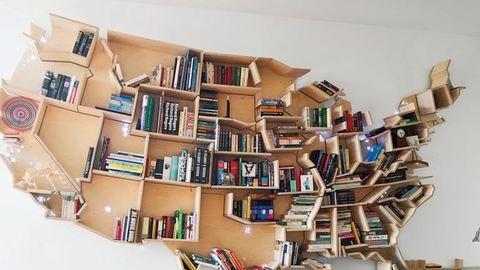 A bizarrtól a bájosig: elképesztő könyvespolcok