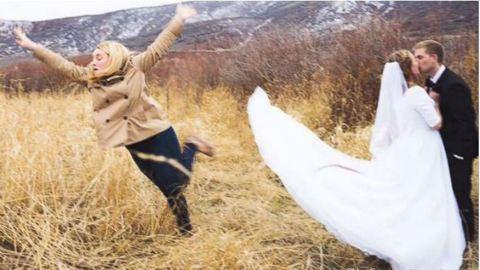 Egy fotó miatt lett világhírű az év koszorúslánya