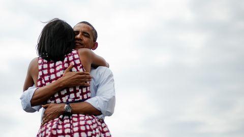 Michelle Obama laza fotóval kívánt boldog Valentin-napot