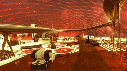 Várost építene a Marson az Egyesült Arab Emírségek