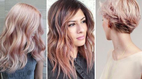 2017-ben is közkedvenc marad a rózsaarany hajszín