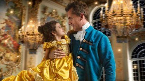 Csodás Szépség és a Szörnyeteg-képsorozattal lepte meg kislányát a fotós apa