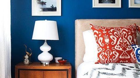 8 ütős szín, apró hálószobák falaira