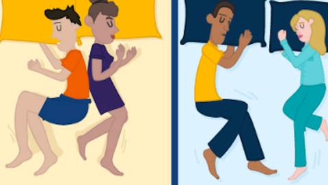 Ezt árulja el a párkapcsolatodról, hogy milyen pózban alszol a pároddal