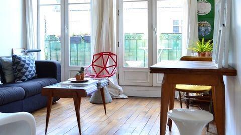 3 csodás párizsi garzon, ami bizonyítja, hogy a kevesebb több