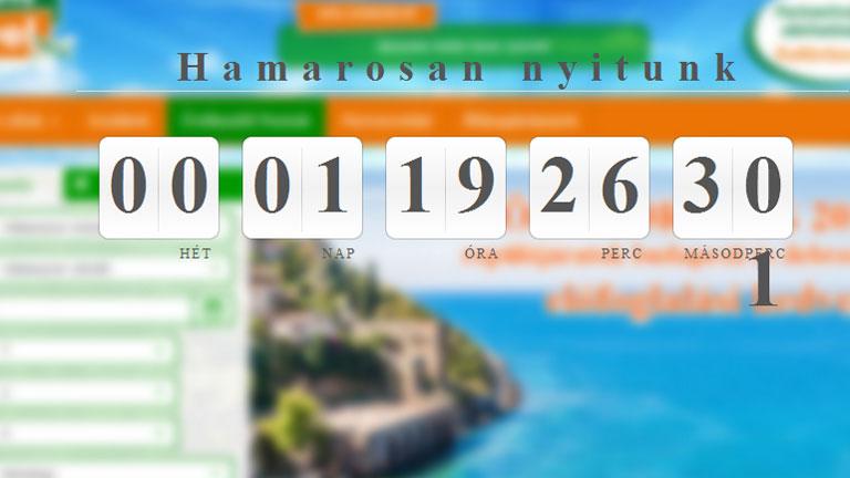 Ennyi látható most a tavaly elkaszált Green Travel weboldalán (Fotó: greentravel.hu)