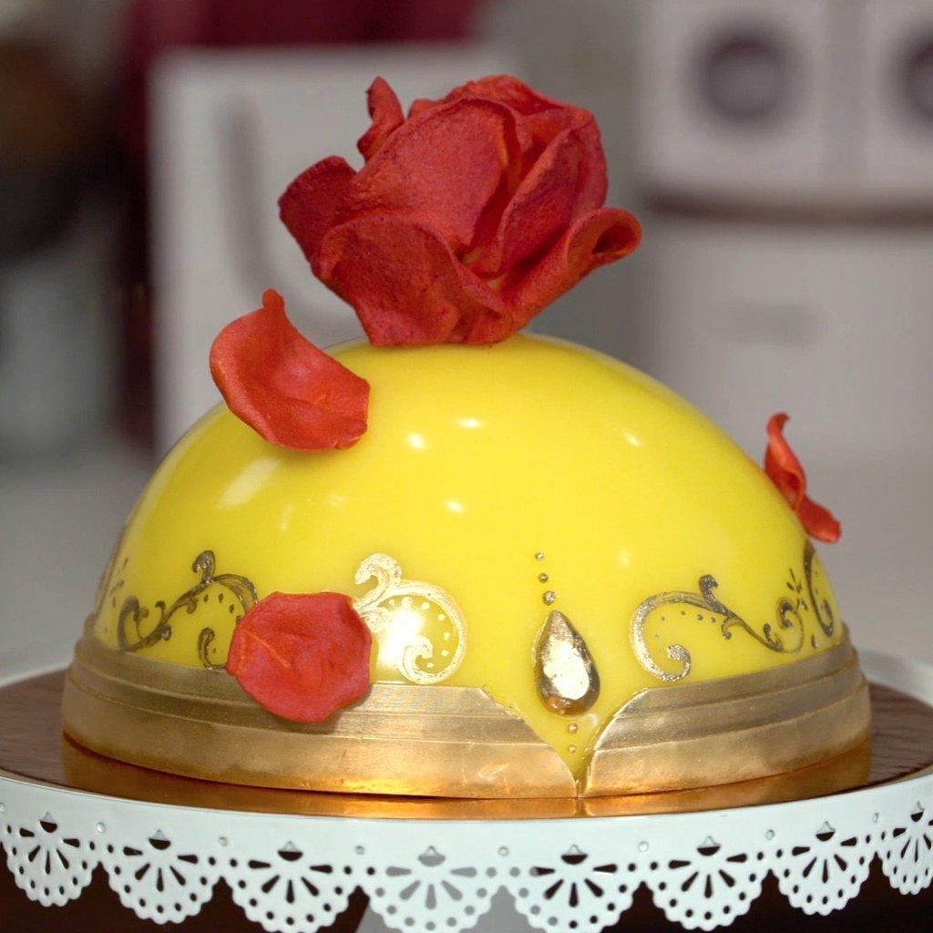 Elbűvölő desszertcsodák, amiket a Szépség és a szörnyeteg ihletett