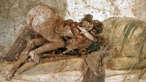 Falfestmények őrzik, hogyan szexeltek az ókorban
