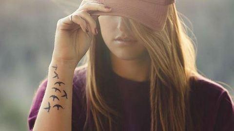 Itt a tetoválás, ami csak 2 hétig tart