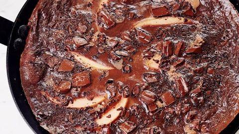 Csokis reggeli francia módra
