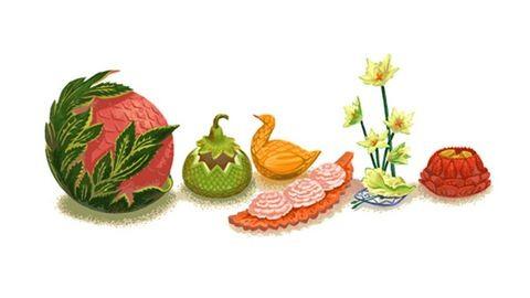 Mik ezek a növények a Google főoldalán?