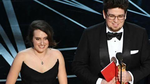 Oscar 2017: csodaszép feleségével ment fel a színpadra Deák Kristóf