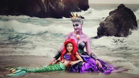Közösen bújik Disney-karakterek bőrébe anya és lánya