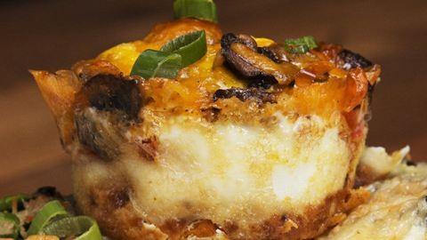 Laktató reggeli: édesburgonyás-tojásos muffinok