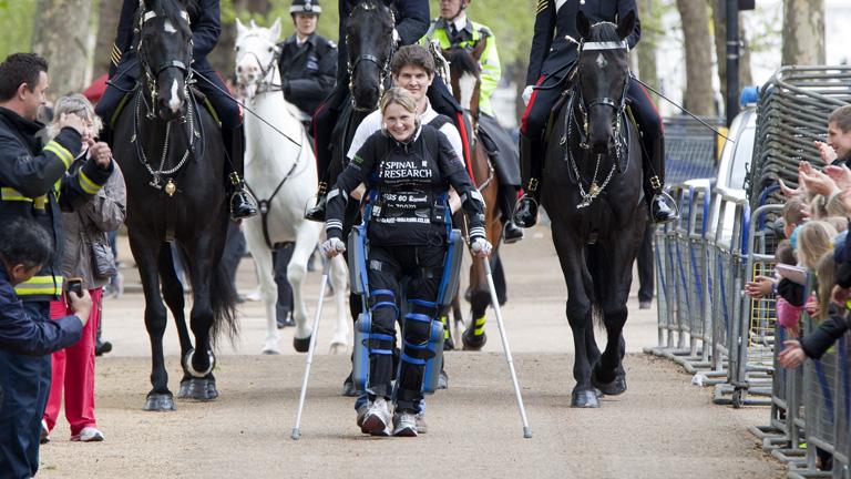 A London Marathon finisében