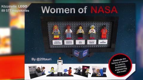 Rajongó ötletét valósította meg a LEGO az űrhajósfigurákkal