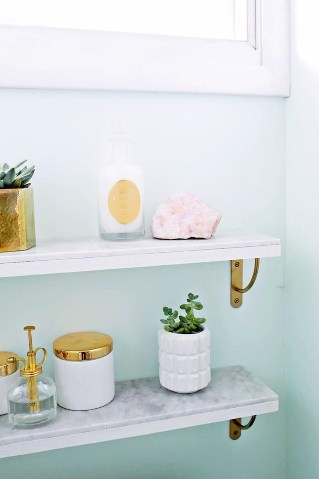 Ultrasikkes, tavaszi dekortippek a fürdőszobába, amiket saját kezűleg elkészíthetsz