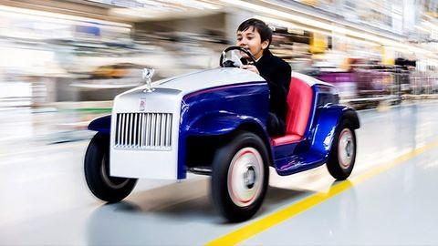 Rolls-Royce-szal mehetnek műtőbe a beteg gyerekek