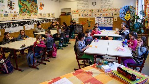 Kevés a tanuló, de annál családiasabb a hangulat a teszéri iskolában
