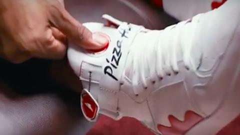 Itt a cipő, ami megrendeli neked a pizzát