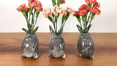 Imádni való állatos vázák a legkisebb virágaidhoz