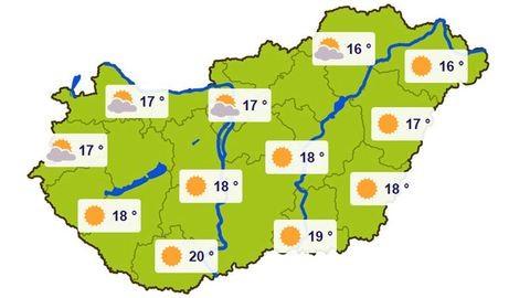 Elképesztő meleg lesz hétvégén