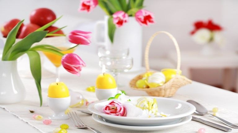 A legszebb húsvéti dekorációk az ünnepi asztalra