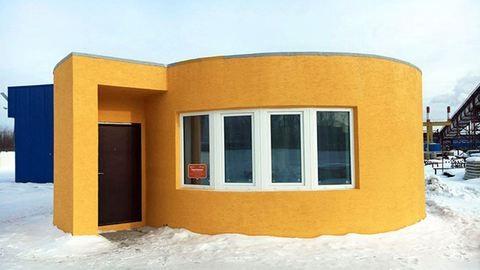 24 óra alatt épült fel az első 3D nyomtatással készült ház