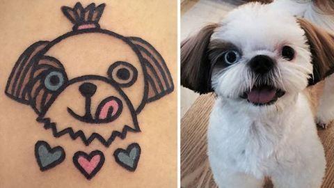 Tüneményes tetkót csinál házi kedvencedről ez a tetoválóművész