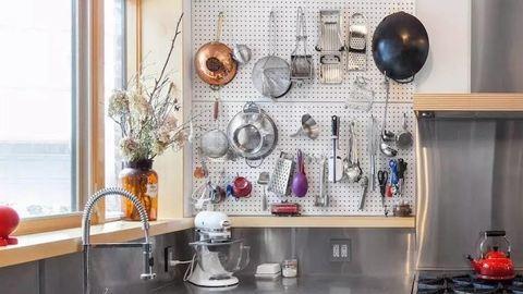 5 inspiráció, ami után te is perforált falat akarsz majd a konyhádba!