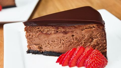 Habkönnyű csokikrémes sajttorta