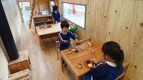 Szupercuki miniházban ismerkedhetnek a japán óvodások a házimunkával