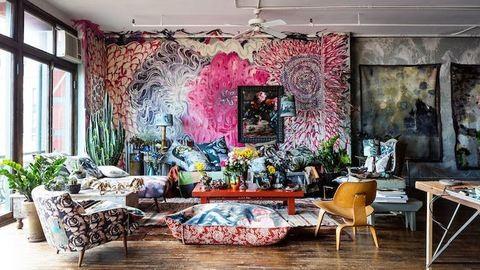 Így élnek a művészek – elképesztő lakásbelsők, amiktől tátva marad a szád