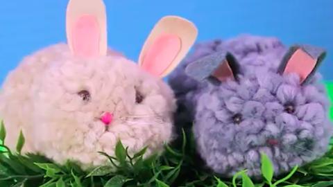 A legcukibb tavaszi dekoráció: DIY pomponnyuszik