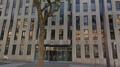 Bomba robbant az IMF irodájában