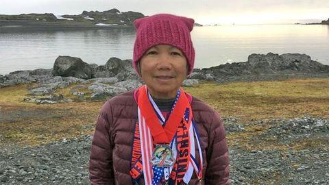 7 nap alatt 7 maratont futott 7 kontinensen a 70 éves nő