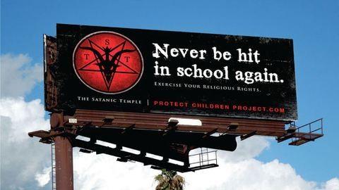 A Sátán Temploma védi meg a gyerekeket a testi fenyítéstől
