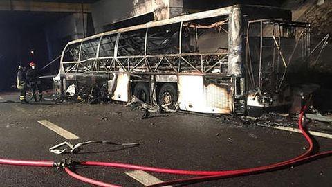Veronai buszbaleset: meghalt az egyik sérült – frissítve